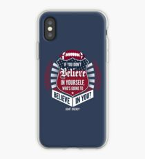 Limited Edition Believe In Yourself, Tom Brady Quote, New England Patriots, Tb12 Shirts, Mugs & Hoodies iPhone Case