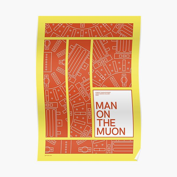 Man on the Muon Poster