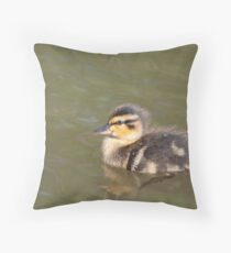 Greenhill Baby Mallard  Throw Pillow