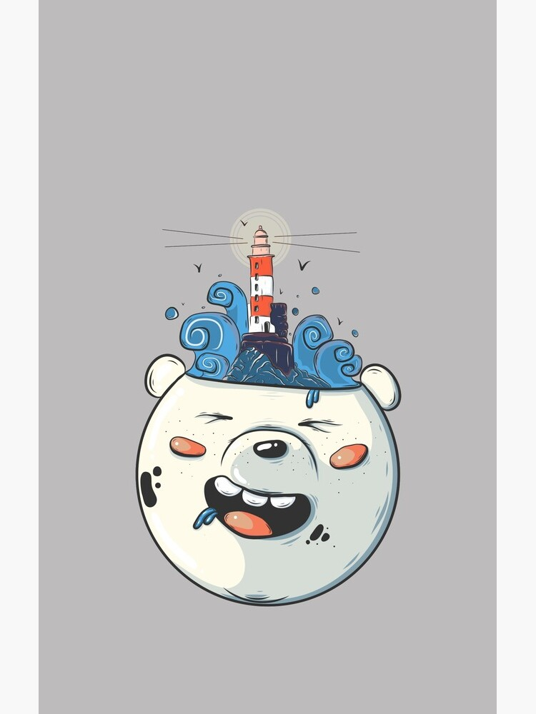 Ice Bear Get Idea. We Bare Bears fan art. by Matraskina