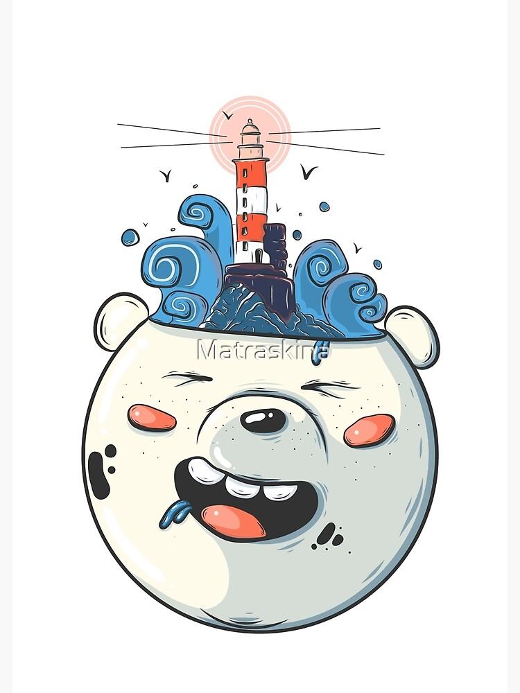 Ice Bear Get Idea. We Bare Bears fan art. by Matraskina