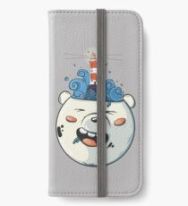 Ice Bear Get Idea. We Bare Bears fan art. iPhone Wallet/Case/Skin
