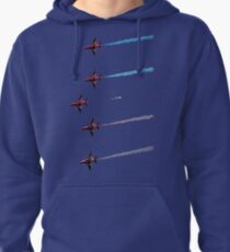 red arrows straight through my heart Pullover Hoodie