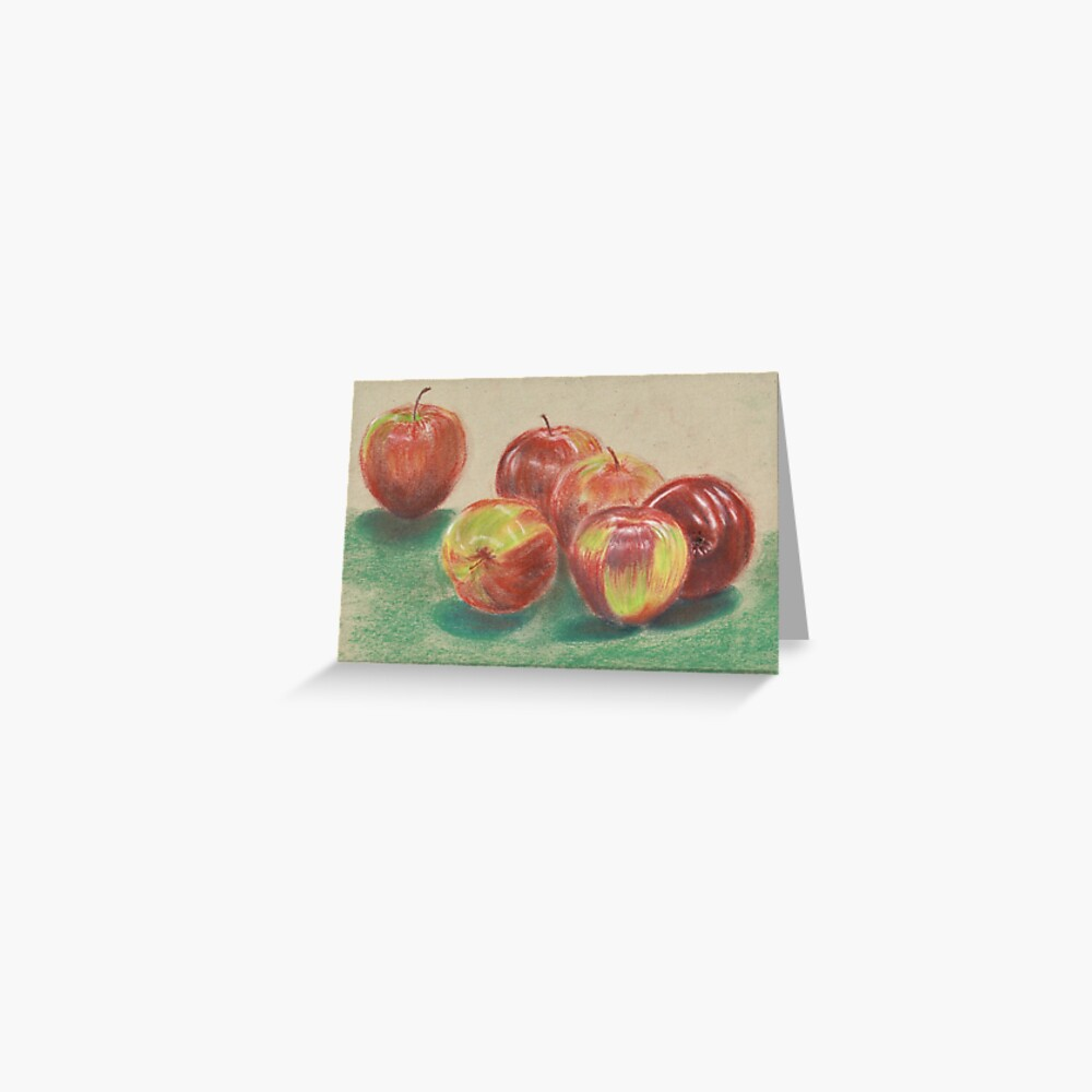 Apples Greeting Card (Blank) Greeting Card