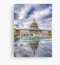 United States Capitol Building Leinwanddruck