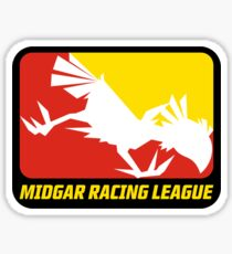 Sticker! Midgar Racing League Sticker