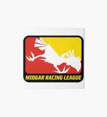 Sticker! Midgar Racing League Art Board