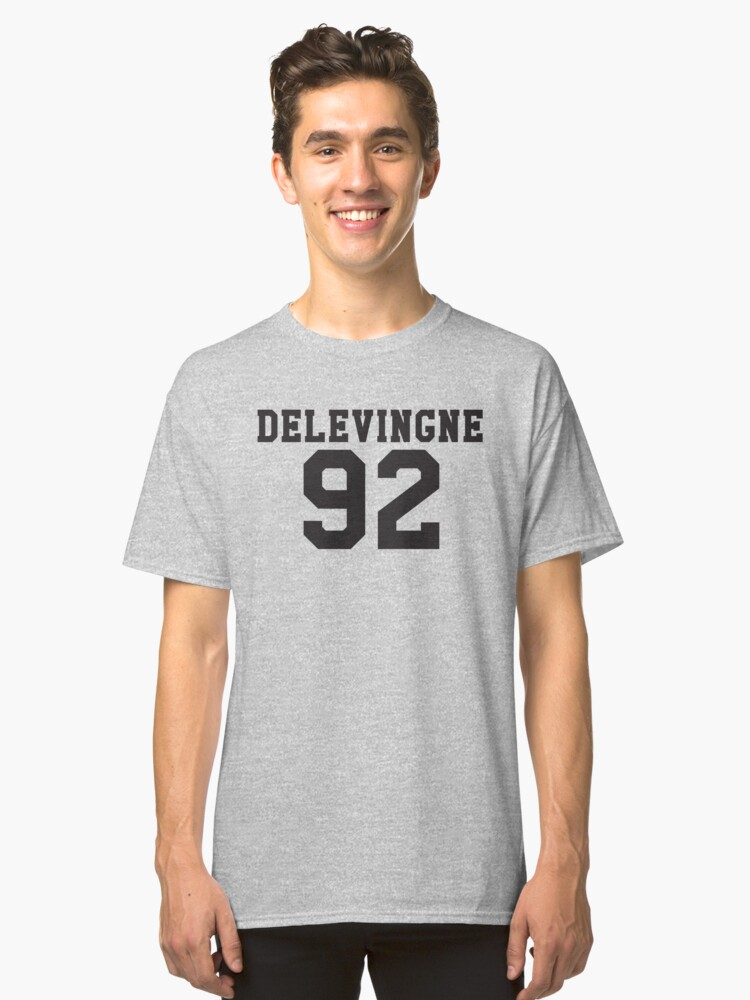 Delevingne 92 Classic T-Shirt Front