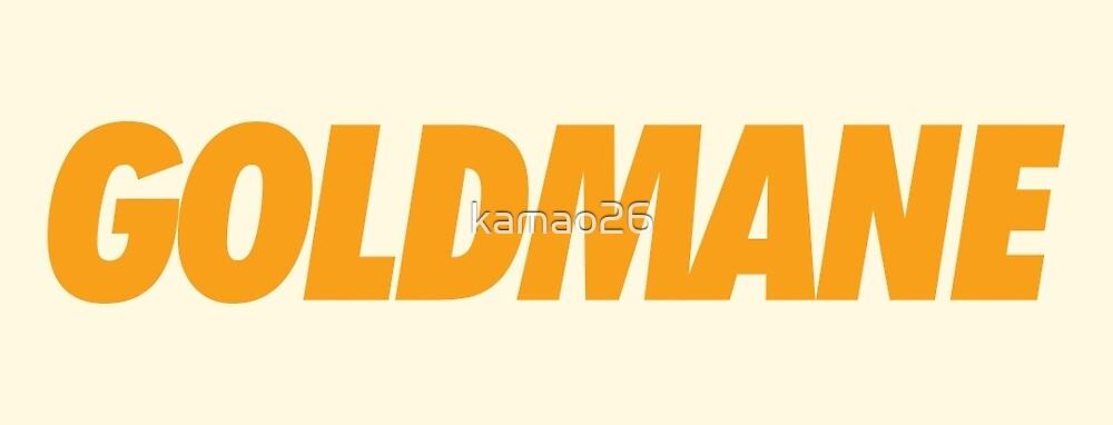 White - Goldmane by kamao26