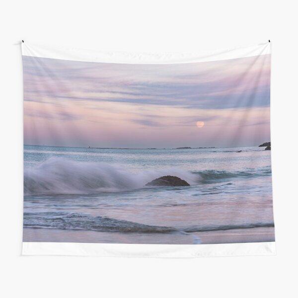Pastel Moonrise Tapestry