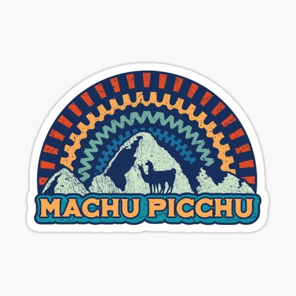 Machu Picchu Retro Inca - Peru Sticker