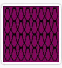 design elements, pink Sticker