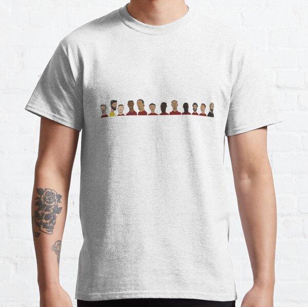 Liverpool FC 2018/19   Mo Salah, Jurgen Klopp, Alisson Becker and more! Classic T-Shirt