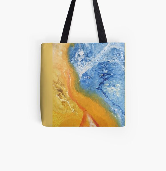 confused All Over Print Tote Bag