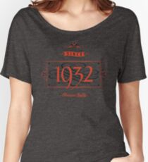 Since 1932 (Red&Black) Women's Relaxed Fit T-Shirt