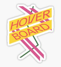 Hoverboard Design Sticker