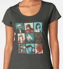 Camiseta premium de cuello ancho Final Pop