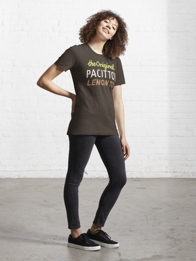 Alternate view of NDVH Pacitto's Lemon Top Essential T-Shirt