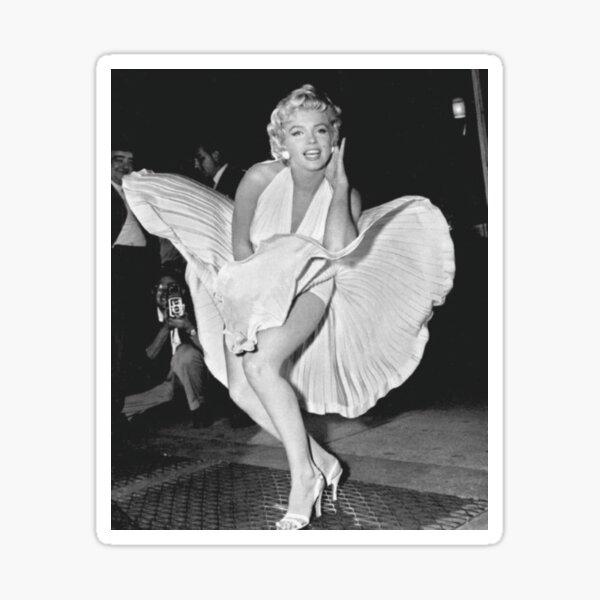 Marilyn Monroe Famous Sticker