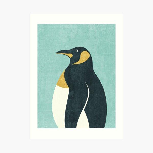 FAUNA / Emperor Penguin Art Print