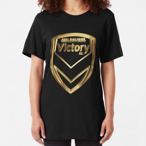 Melbourne Victory FC Gold Slim Fit T-Shirt