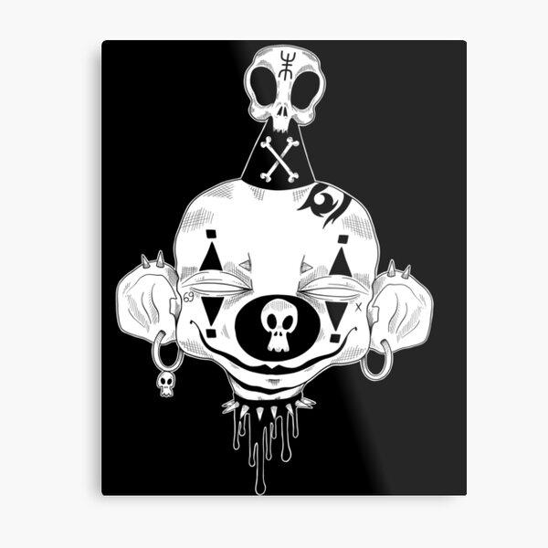Punk Klown Metal Print