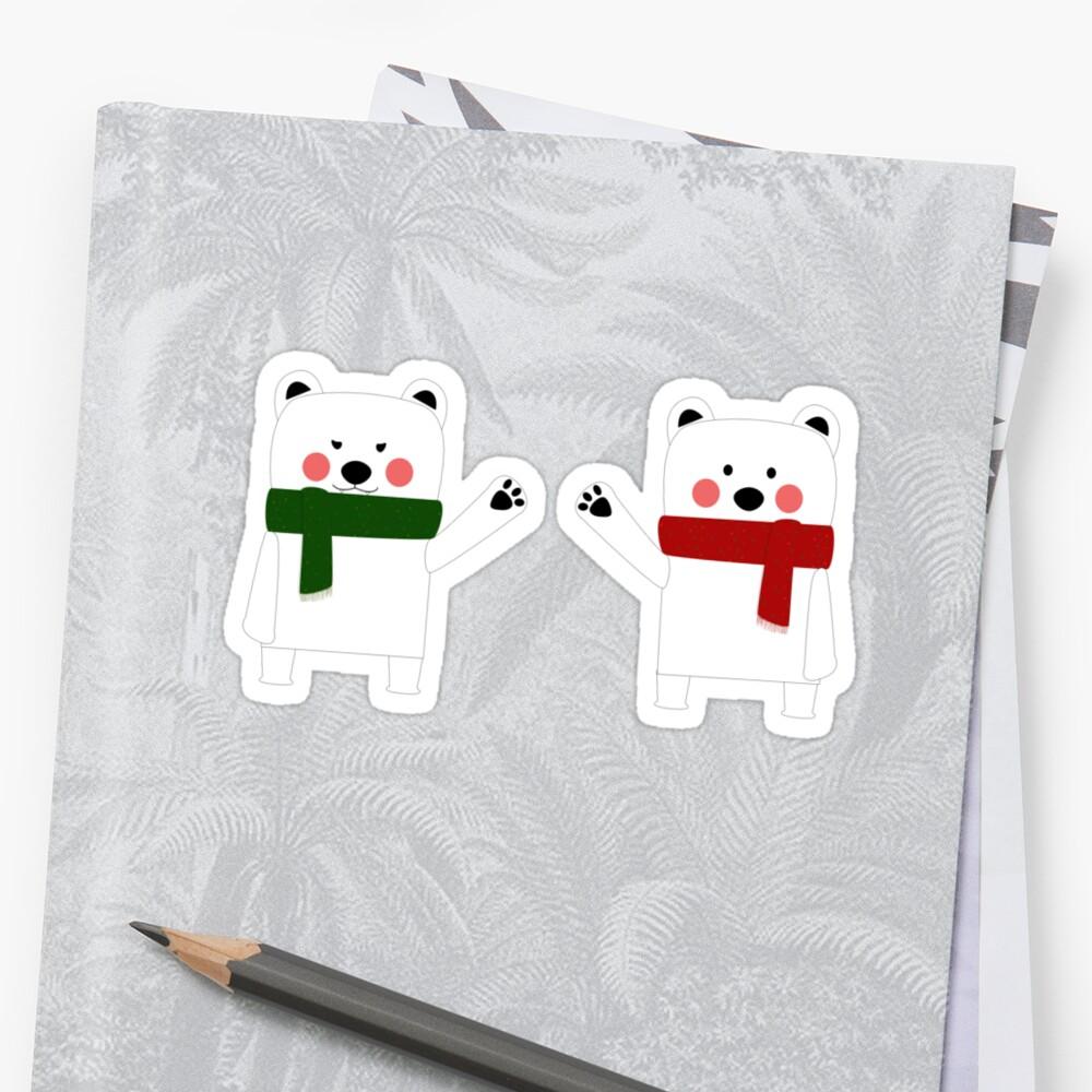 Bipolar Bears by surlana