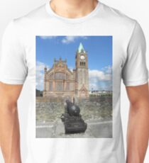 Derry walls and Guildhall - Co Derry - Ireland Unisex T-Shirt
