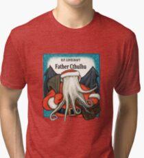 Father Cthulhu Tri-blend T-Shirt