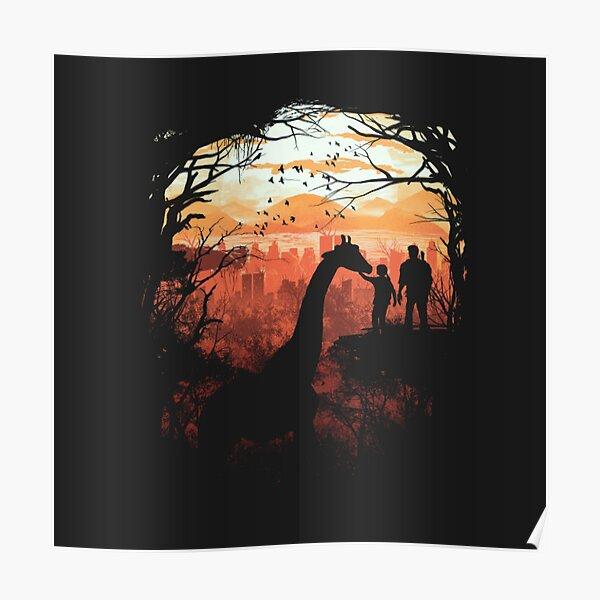 The Last of Us Giraffe Poster Poster