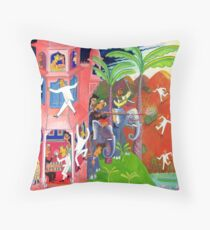 Hunt for the elusive 007 Throw Pillow