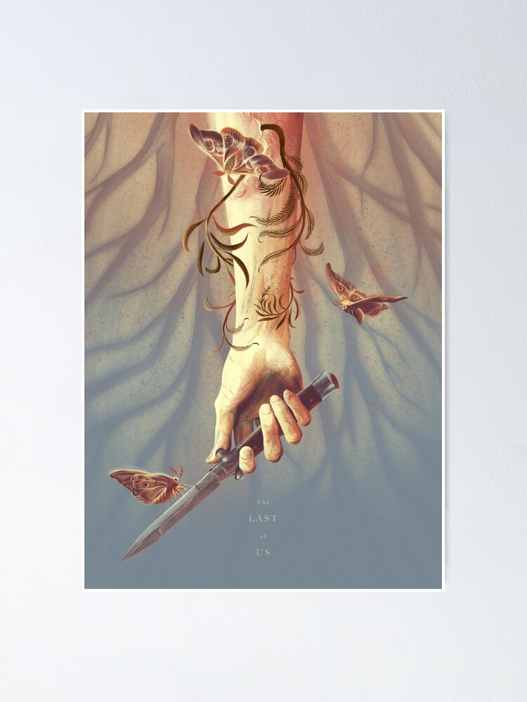 Alternate view of The Last of Us Knife Poster Poster