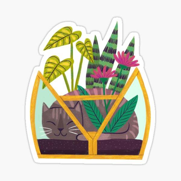 Cat Terrarium Sticker