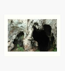 pawon cave Art Print