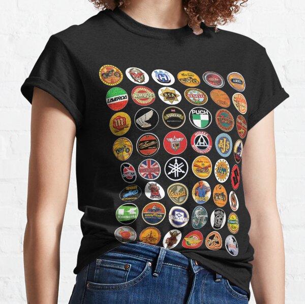 Motos Antiguas Camiseta clásica