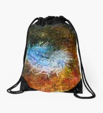 Dendrification 9 Drawstring Bag