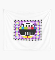 TV Signal Wall Tapestry