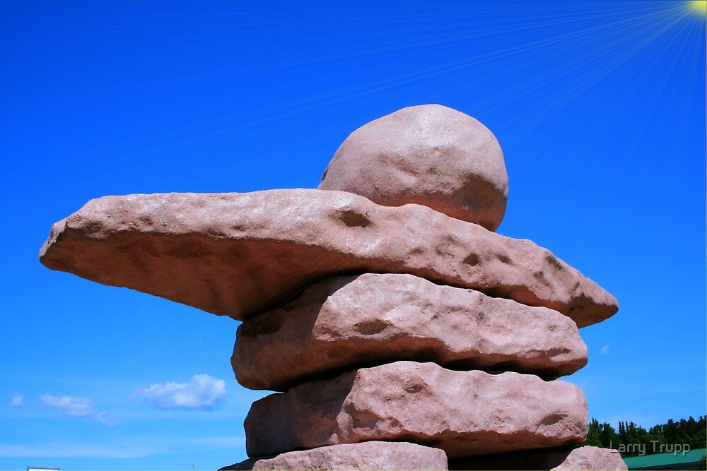 Inuksuit by Larry Trupp