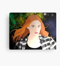 Amy Pond Metal Print