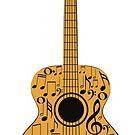 Gitarre und Musik Noten 4 von AnnArtshock