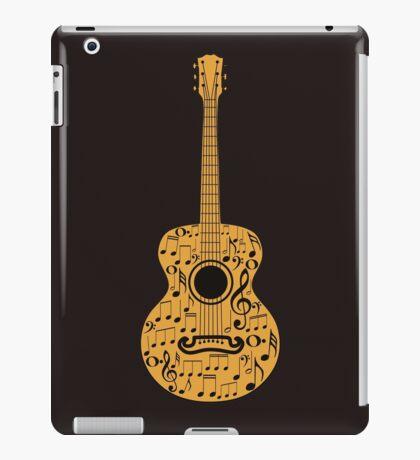 Gitarre und Musik Noten 4 iPad-Hülle & Klebefolie