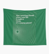 Hitchhikers' circle Wall Tapestry