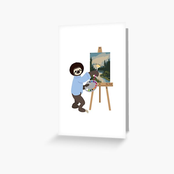 Bob Sloth Greeting Card