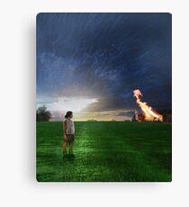 New Beginnings - Photomanipulation Canvas Print