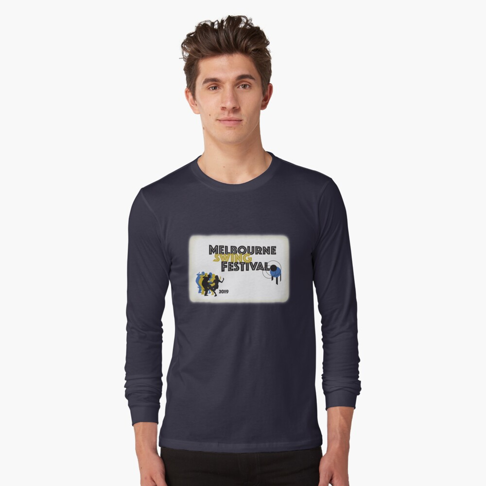 Melbourne Swing Festival 2019 Long Sleeve T-Shirt