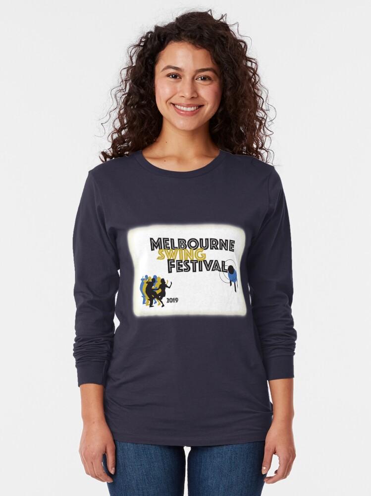 Alternate view of Melbourne Swing Festival 2019 Long Sleeve T-Shirt