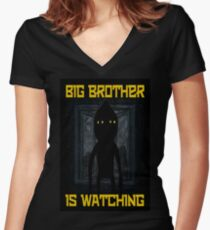 """""""Big Brother"""" Women's Fitted V-Neck T-Shirt"""