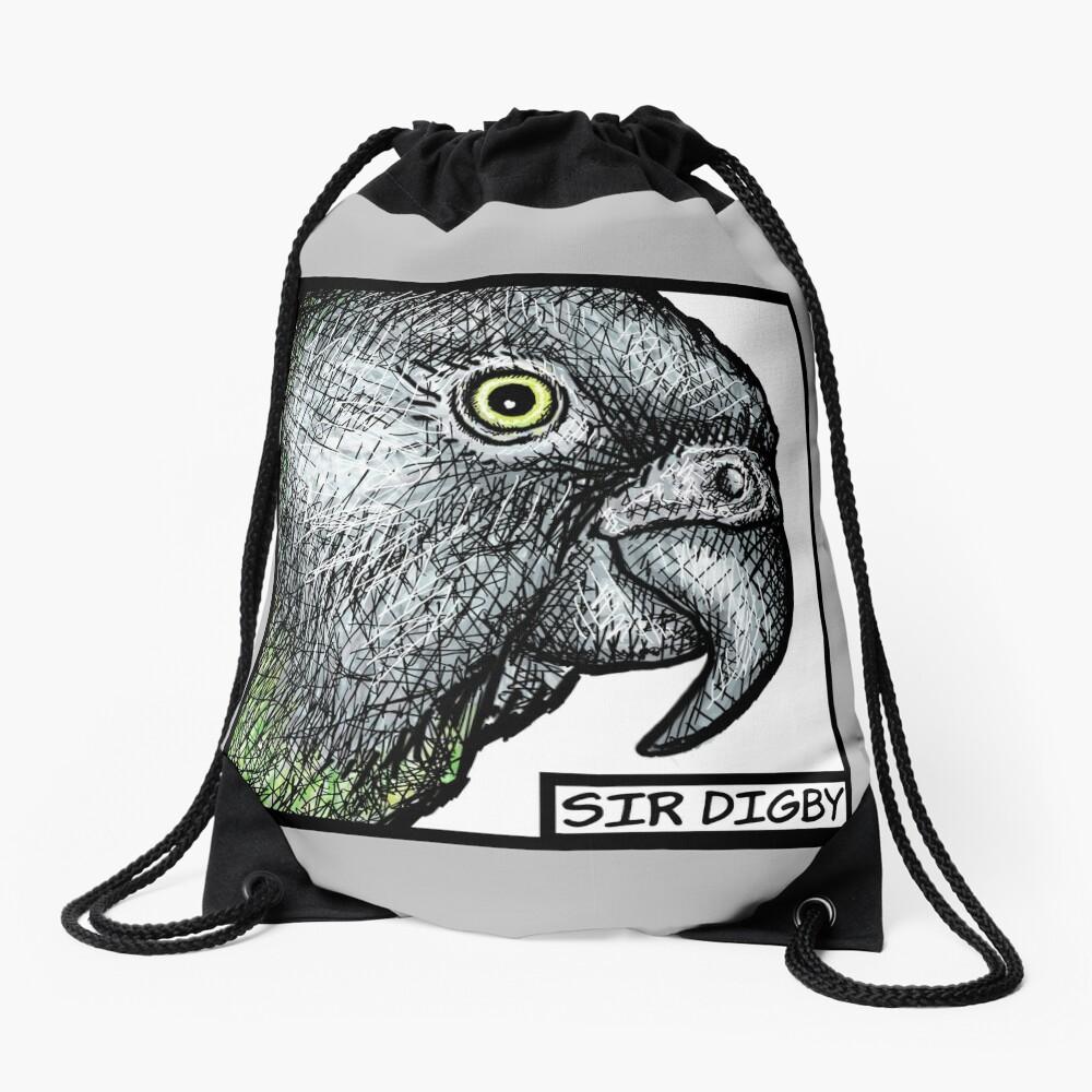 """""""Sir Digby, 2014"""" Drawstring Bag"""