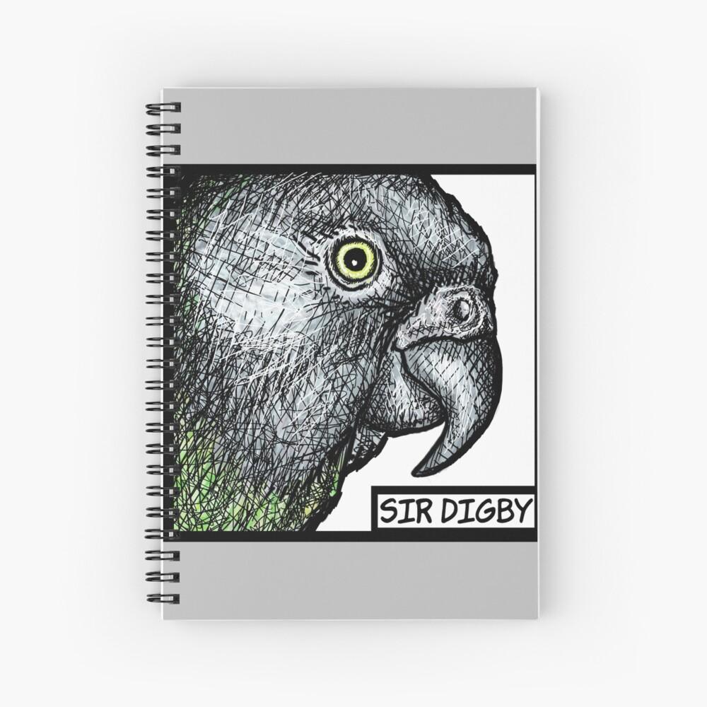 """Sir Digby, 2014"" Spiral Notebook"