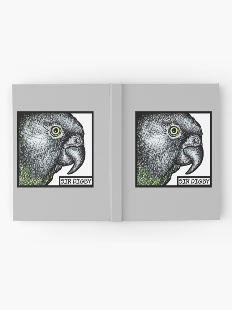 """Alternate view of """"Sir Digby, 2014"""" Hardcover Journal"""